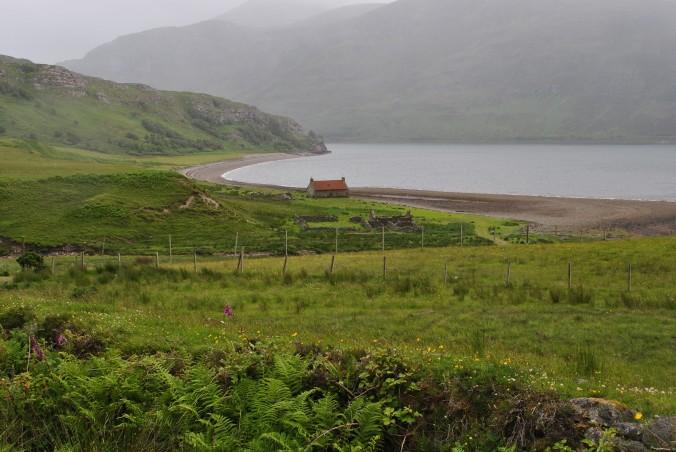 Nieselregen Schottland