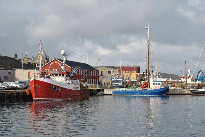 Lerwick harbour