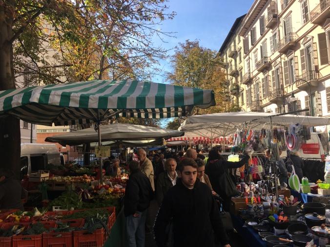 Markt in Turin