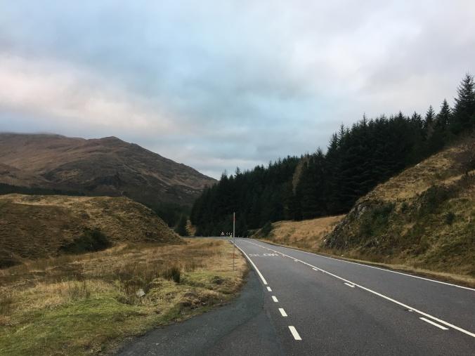 Wintergrau Schottland Nellie Merthe Erkenbach Abenteuer Highlands