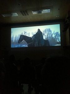 screening The Bruce in Sabhàl Mor Ostaig