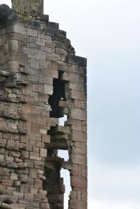 castle staircase ruin