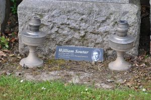 grave of William Soutar Westhill Cemetery, Perth