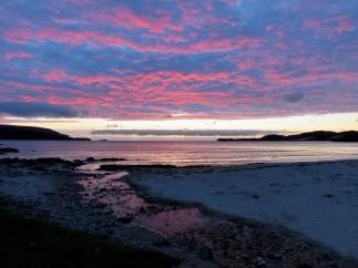 Sonnenuntergang Balnakeil Bay