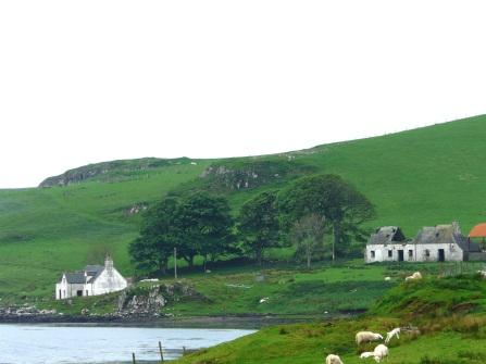 Isle of Skye Westlich von Dunvegan
