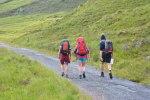 Wanderer in Schottland