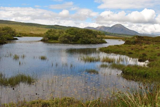 Lake near Broadford, Isle of SkyeSkye