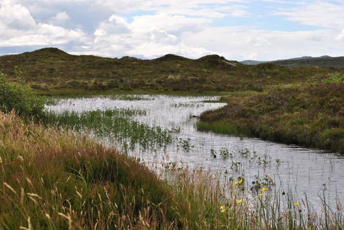 lake near Broadford, Isle of Skye