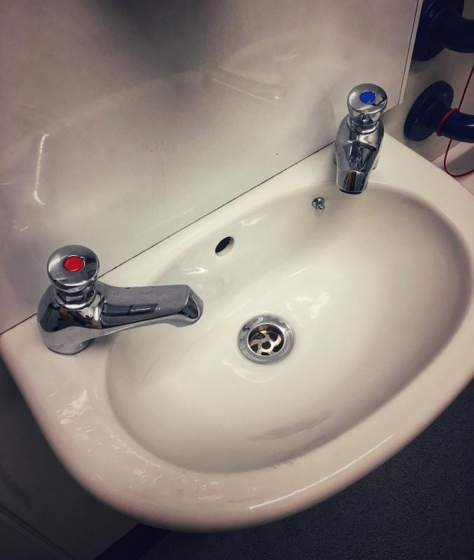 Waschbecken Schottland