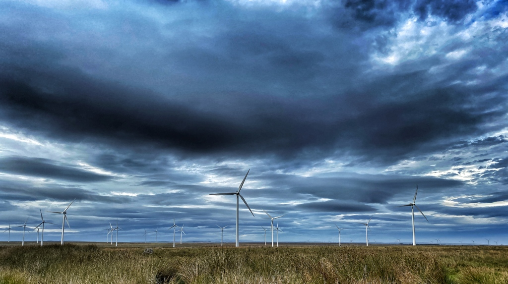 wind farm near Camster @nme Nellie Merthe Erkenbach Graveyards of Scotland